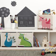 The perfect storage solution for any room in your house, our 3 Sprouts storage boxes stand at attention when you need them but fold away flat when you don't. Available from #polkadotpeacock. #peacocklove #3sprouts