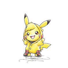 Small Bolt Action Art Print by Randy C Pikachu Tattoo, Pikachu Drawing, Pokemon Sketch, Pikachu Pikachu, Pichu Pokemon, Deadpool Pikachu, Baby Pokemon, Cool Pokemon, Pokemon Cosplay