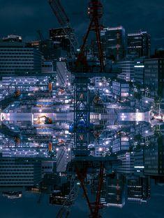 Derive: Wandering Under The Neon Lights Of Tokyo   Bored Panda