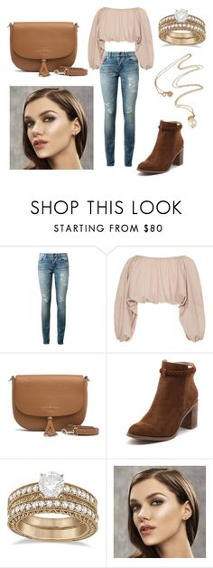 """""""Untitled #129"""" by andrejafrukacz on Polyvore featuring Yves Saint Laurent, Cult Gaia, Tommy Hilfiger, Billini and Allurez"""