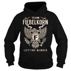 Team FIEBELKORN Lifetime Member - Last Name, Surname T-Shirt