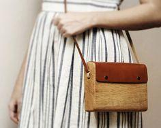 Wooden bag  #bag  #wood