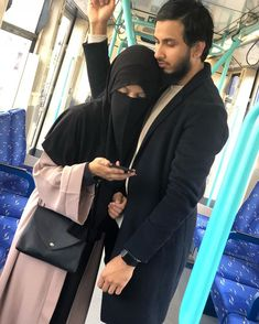 They're called Husbands, the latest must have! Believe it or not, this thing right here works and earns money so… Love Couple Images, Couples Images, Arab Girls Hijab, Girl Hijab, Cute Muslim Couples, Couples In Love, Muslim Couple Photography, Photography Poses, Arab Men Fashion