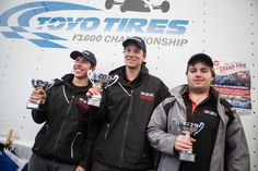 ROBICHON HEADS ANOTHER BRIAN GRAHAM RACING PODIUM SWEEP IN RACE 1 AT BARC GRAND