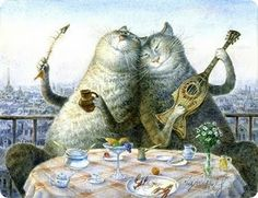 Vladimir Rumyantsev and His Charming Cats
