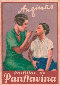 """Panflavina Pills - A Mother's Loving Care (1940's)  - """"When family humor ads reflected our culture's values instead of trying to lower them."""" #medicinasantiguas"""