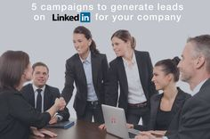 5 Campaigns to Generate Leads on Linkedin for your Company - Marketing and PPC Advertising Agency Linkedin Advertising, Advertising Agency, How To Attract Customers, Job Title, Digital Technology, Lead Generation, Digital Marketing, Success, Social Media
