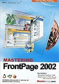Web Mastering with Microsoft Frontpage 2002 (XP Office) From $6.94 Software Amazing Discounts Your #1 Source for Software and Software Downloads! Click On Pins For More Info Getpricesoftware.com