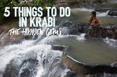 Krabi was the highlight of our Thailand trip - It's miles from the crowds in Phuket, way more family friendly and has tons of unique tourist attractions. Everyone knows about Railay beach and the 4 Islands tour, but what about the mainland? Here are our 5 favourite things to do in Krabi that you might not have heard
