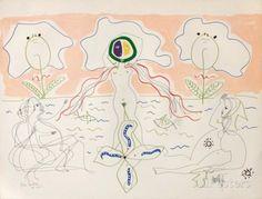 L'Âge Du Verseau : La Femme Fleur Reproductions pour les collectionneurs