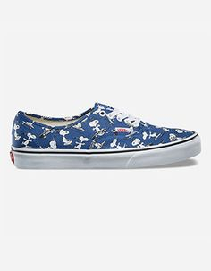 6d2ce958ee VANS x PEANUTS Snoopy Skating Authentic Shoes Blue Vans X Peanuts