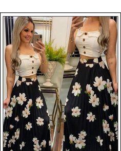 15 Looks con las Faldas Estampadas de Moda - Ourworld Tutorial and Ideas Lila Outfits, Skirt Outfits, Classy Outfits, Trendy Outfits, Dress Skirt, Summer Outfits, Summer Dresses, Waist Skirt, High Waisted Skirt