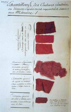 The Creation of Color in Eighteenth-Century Europe: Jean-Baptiste Pont Textiles, Glass Bead Game, Textile Texture, Bohemian Art, Fabric Samples, Color Theory, A Boutique, Color Inspiration, Lana