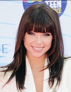 Top 10 Hairstyles With Bangs DailyMakeover Hairstyles hairstyles with bangs | hairstyles