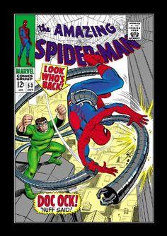 Marvel Masterworks: The Amazing Spider-Man - Volume 6 by Stan Lee, http://www.amazon.com/dp/0785150544/ref=cm_sw_r_pi_dp_B5ZYqb0RTXCY9