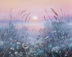 Twilight by AwaaraC on DeviantArt Pretty Wallpapers, Funny Wallpapers, Misty Day, Easy Watercolor, Beautiful Paintings, Twilight, Fantasy Art, Art Projects, Decoration
