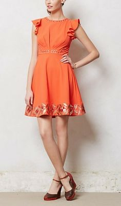 Anthropologie Embroidered Santri Dress worn by Annabeth Nass on Hart of Dixie. Shop it: http://www.pradux.com/anthropologie-embroidered-santri-dress-28541?q=s24