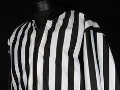 Honig's Referee Rain Jacket Men Large Black White Striped Football Basketball #Shopping #Style #Clothing #eBay @eBay! http://r.ebay.com/iXEouX
