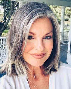 25 Women Going Gray Gracefully Who Will Inspire You to Quit Dying Your Hair