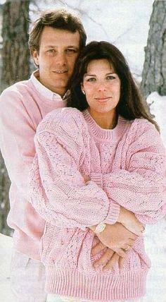 Princesa Carolina de Mónaco y Stefano Casiraghi:
