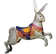 CB308 - Rabbit Carousel Animal