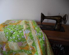 (7) Name: 'Quilting : 6 yard wonder - 3 fabric quilt