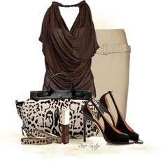 Leopard Print, created by renee-switzer on Polyvore