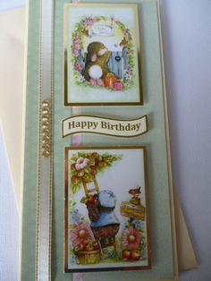Hunkydory Patchwork Forest Friends Hunky Dory, Forest Friends, Heartfelt Creations, Little Books, Forests, Handmade Cards, Christmas Cards, Happy Birthday, Happiness