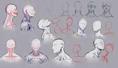how to draw necks http://moni158.deviantart.com/art/Drawing-necks-298521472?q=boost%3Apopular%20in%3Aresources%2Ftutorialsqo=68 ✤ || CHARACTER DESIGN REFERENCES | キャラクターデザイン • Find more at https://www.facebook.com/CharacterDesignReferences if you're looking for: #lineart #art #character #design #illustration #expressions #best #animation #drawing  #reference #anatomy #traditional #sketch #artist #pose #gestures #how #to #tutorial #comics #conceptart #modelsheet #torso #shoulders #neck || ✤