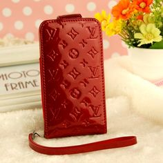 LV IPHONE 4S CASE red