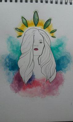 N°3 série portrait by Lise