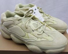 8b61c70a5 Adidas Yeezy 500 Super Moon Yellow Supermoon DB2966 Size 10.5 - 100%  AUTHENTIC  adidas  RunningShoes