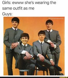 Picture memes iFunny - Ewww Meme - The post Picture memes iFunny appeared first on Gag Dad. Beatles Meme, The Beatles 1960, Beatles Guitar, Music Rock, Rock Music Funny, John Lenon, The Fab Four, Music Memes, Band Memes