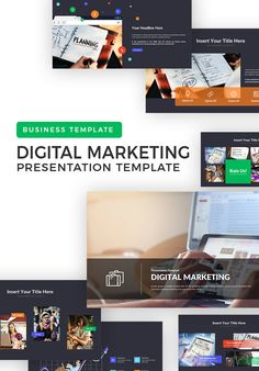 Get the ease in presenting your marketplace plan with a Digital Marketplace Powerpoint Template presentation. Power Points, Marketing Presentation, Presentation Templates, Software, Computer, Style Guides, Free Design, Digital Marketing, Design Inspiration