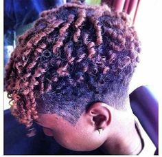 Trendy Shaved Short Afro Haircuts