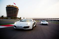 Shooting the McLaren MP4-12C at the Bahrain Internation Circuit with Wouter Kingma >>>