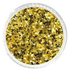 Chartreuse Yellow Hexagon Glitter – Solvent Resistant Glitter from Glitties Nail Art Online Store Bulk Glitter, Cosmetic Grade Glitter, Yellow Glitter, Arts And Crafts Projects, Art Online, Sparkle, Nail Art, Store, Life