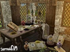 SurrealiSIM Sims 2 downloads: Herbology set