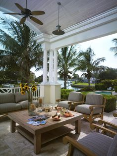 Cliff Scholz - traditional - porch - tampa - Clifford M. Scholz Architects Inc.