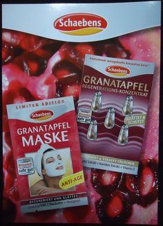 Die neuen Granatapfel Produkte duften himmlisch.