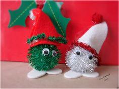 Handmade Christmas: PomPom Critters | Marine Corps Nomads