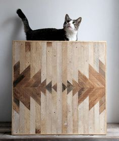 Artisan Lumber Decor - Reclaimed Wood Wall Panels are Delightfully Patterned (GALLERY)