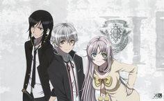 Kuroh, Shiro and Neko