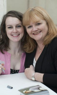 Mrs. Pattmore and Daisy ~ Lesley Nicol AKA Mrs Pattmore played one of the giant beavers in the BBC's 1988 adaptation of The Lion, The Witch And The Wardrobe.