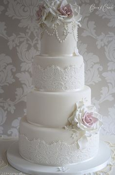 Wedding Cake by Cotton & Crumbs