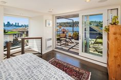 The Ultimate in Seattle Waterfront Living: 2339 Fairview Ave E Seattle Waterfront, Waterfront Homes, Portage Bay, Lake Union, Floating House, Windows, Cool Stuff, Houseboats, Floating Homes
