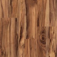 Love this floor color and texture Style Selections�7.6-in W x 4.23-ft L Natural Acacia Smooth Laminate Wood Planks