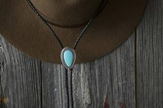 Turquoise Bolo Tie Turquoise Jewelry Mens Real Turquoise womens