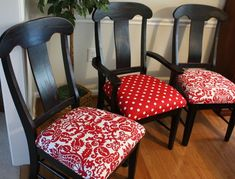 Really nice refinished chairs