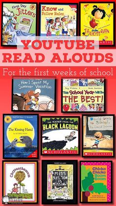 The Picture Book Teacher's Edition: 11 YouTube Read Alouds for the First Weeks of School